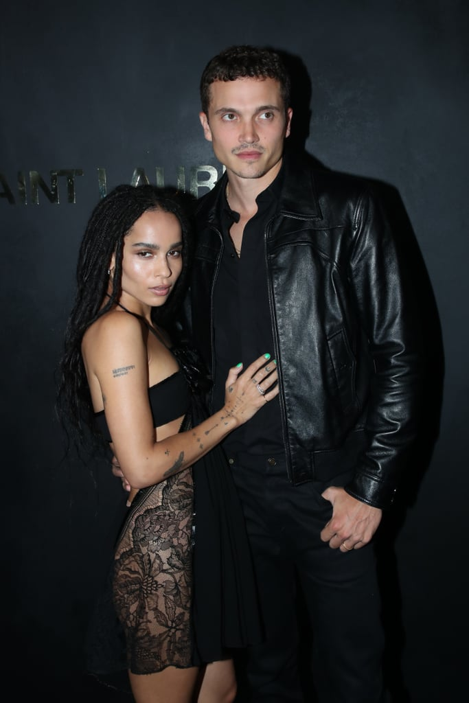 Zoë Kravitz and Karl Glusman