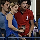 Ashley Greene chatted at the US Open.