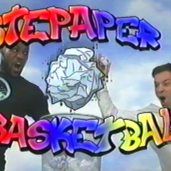 "Jimmy Fallon and Lebron James ""Wastepaper Basketball"""