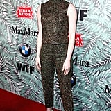 Emma Stone at the 2017 Women in Film Pre-Oscar Cocktail Party