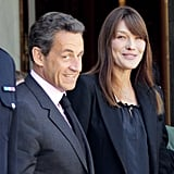 Pictures of Carla Bruni Baby Bump?