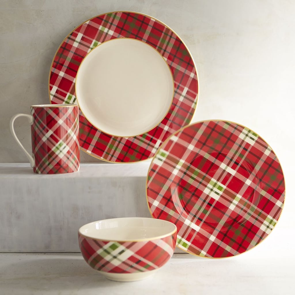 Haddington Plaid Porcelain Mug ($8)