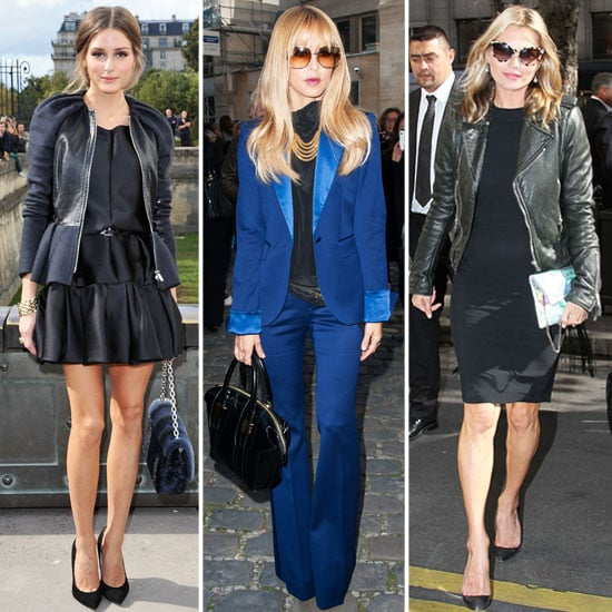 Pictures of celebrities front row at Paris Fashion Week: Olivia Palermo, Kate Moss, Kristen Stewart and more!