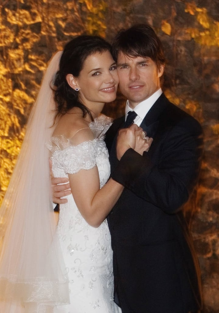 Tom Cruise and Katie Holmes posed as man and wife.