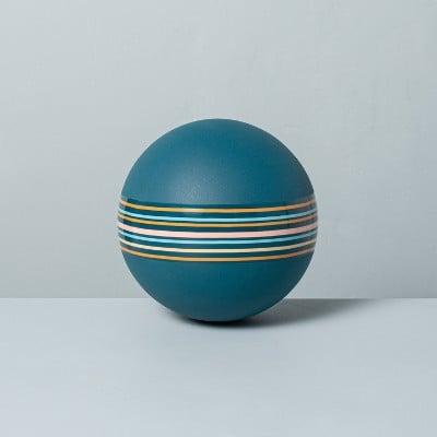 Inflated Multi Stripe Kickball