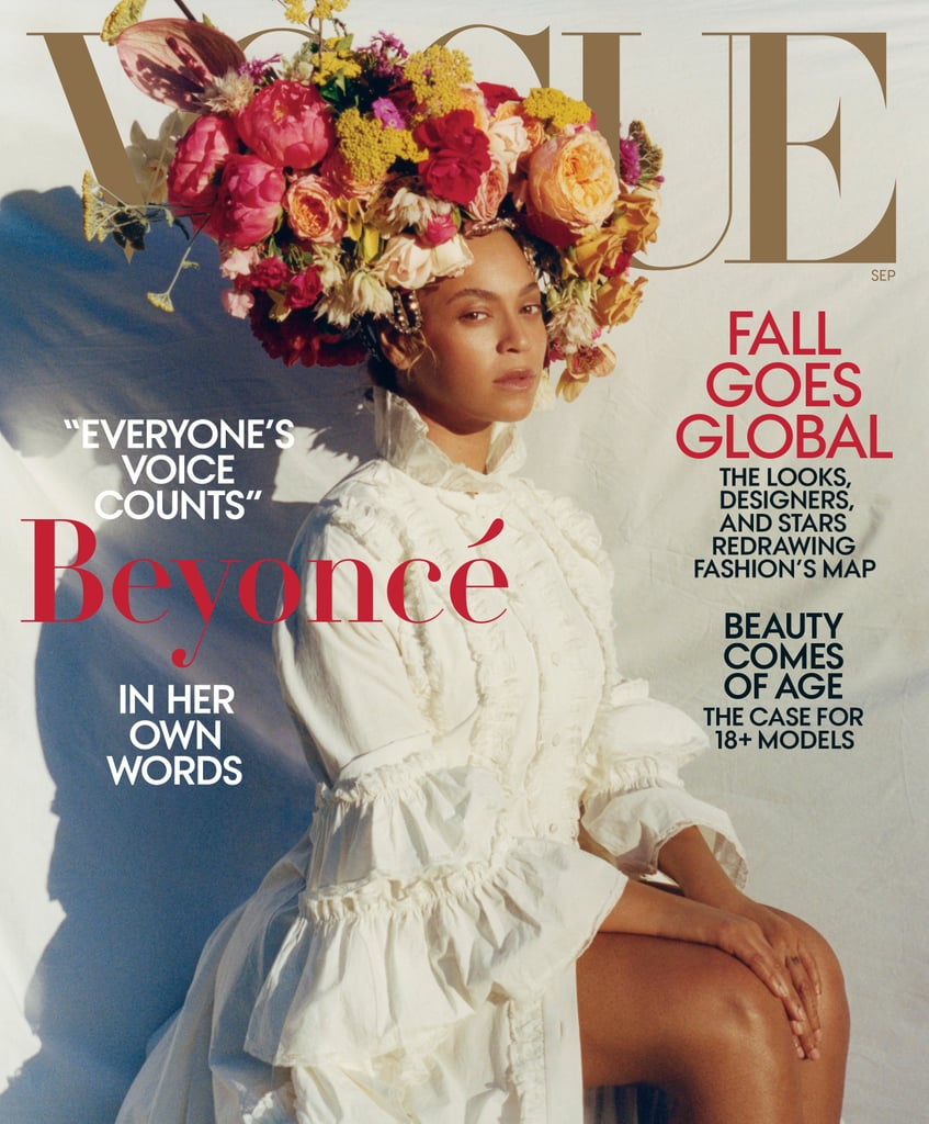 Beyoncé Quotes in Vogue September 2018