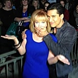 Extra's Mario Lopez pretended to censor Kathy Griffin a few days before her show Kathy went live on Bravo.  Source: Twitter user mariolopezextra