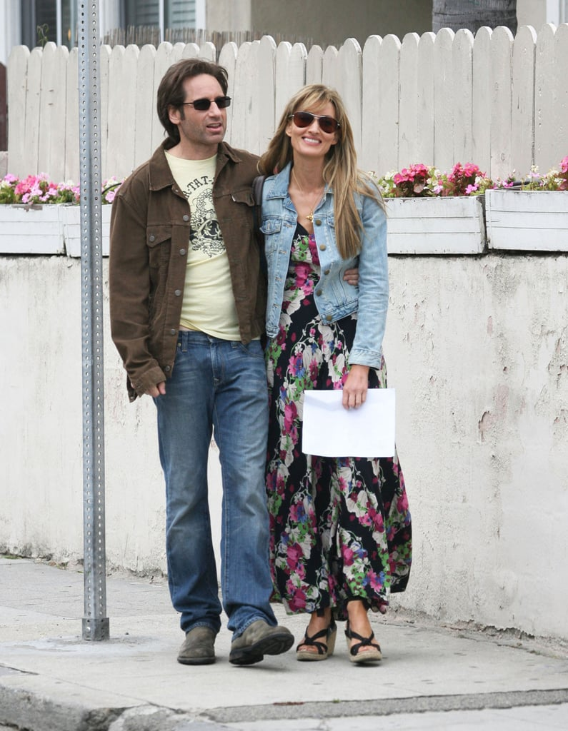 pictures of david duchovny and natascha mcelhone filming