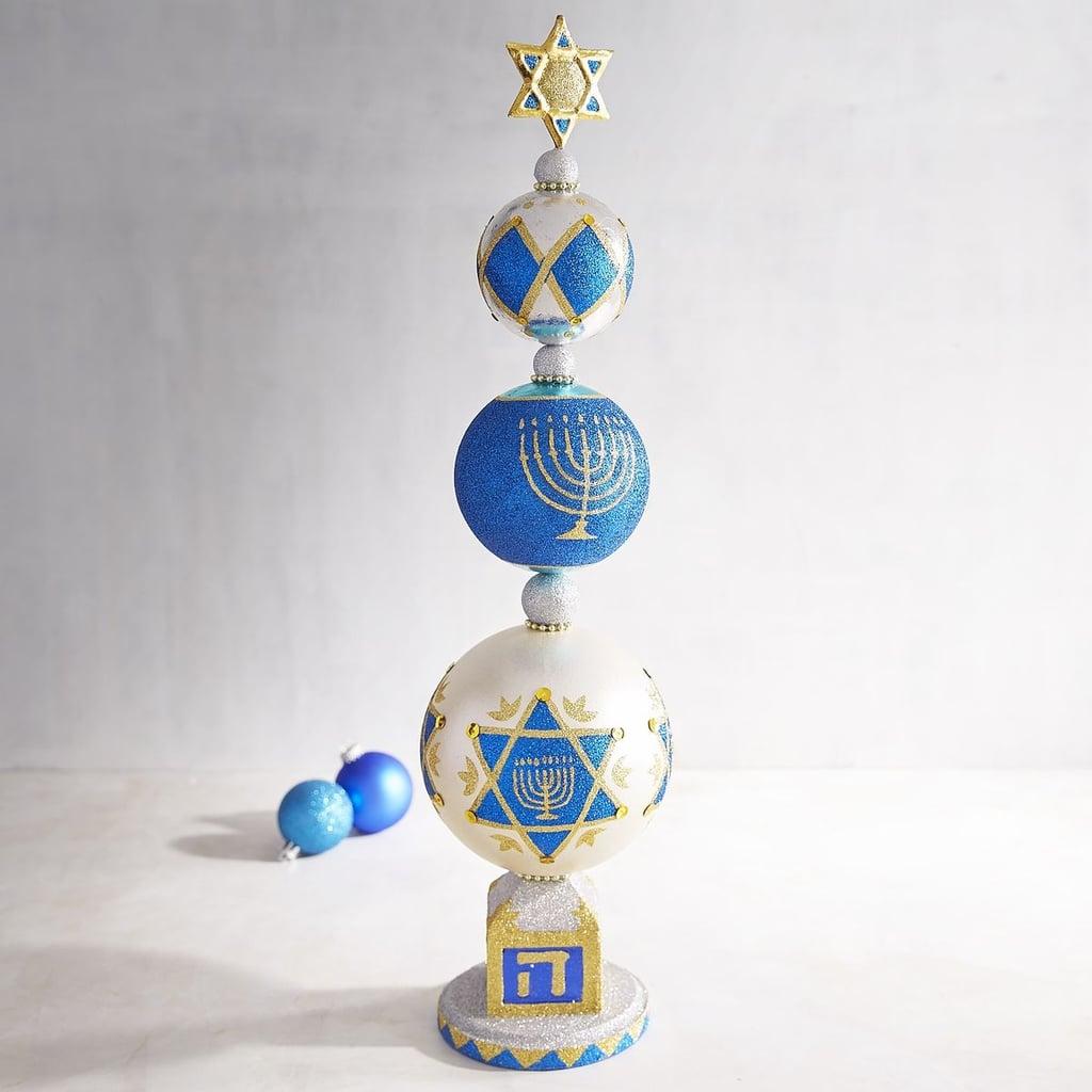 Hanukkah tree ornaments - Star Of David Finial Decor 50