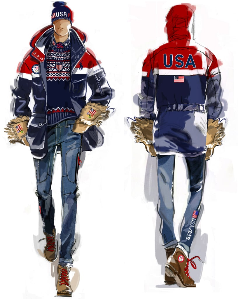The Team USA Men's Opening Ceremony Uniform