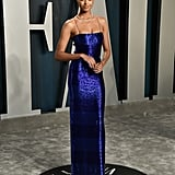 Ella Balinska at the Vanity Fair Oscars Afterparty