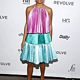 Yara Shahidi at The Daily Front Row Fashion Media Awards During New York Fashion Week