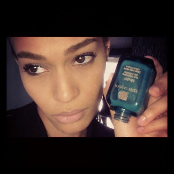 Joan Smalls was sad that one of her favorite products is all used up. Source: Instagram user joansmalls