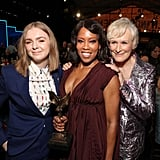 Pictured: Elsie Fisher, Regina King, and Glenn Close