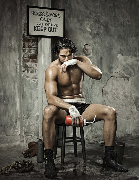 Joe Manganiello channeled a boxer for Men's Health's July 2013 issue.