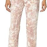The Drop Dina Fleece Elastic-Hem Sweatpants