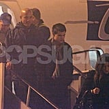 Rob and Kristen Holding Hands!