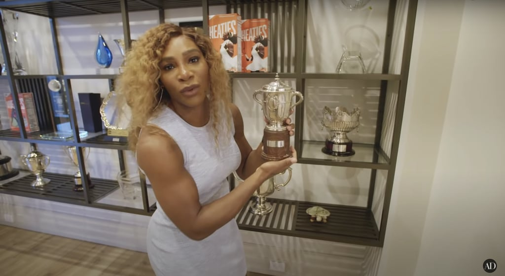 Serena has a lot of gold to be proud of!
