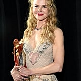 January: Nicole Kicked Off the Year by Being Crowned the International Star at the Palm Springs Film Festival