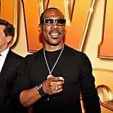 Eddie Murphy wore dark glasses to the Tower Heist premiere.