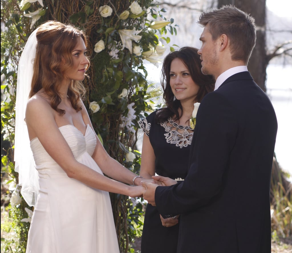 lucas and peytons wedding one tree hill wedding