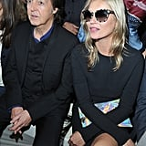Celebrities at the Stella McCartney Spring 2013 Show