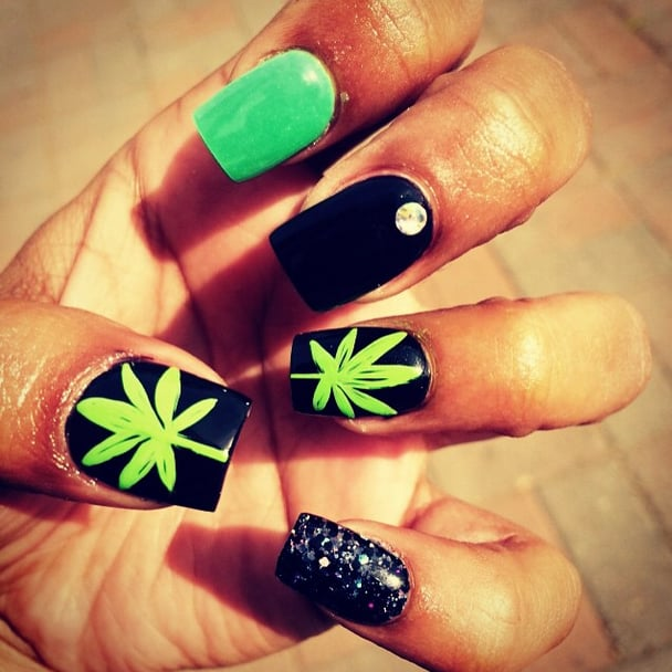 Pot Nail Art Ideas