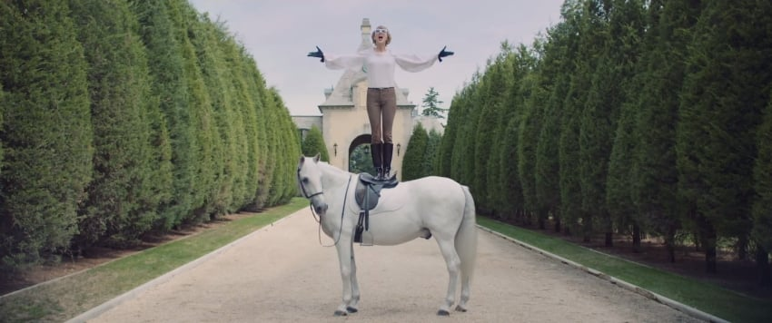 On a High Horse