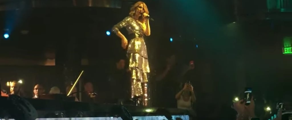 "Celine Dion Performs EDM Remix of ""My Heart Will Go On"""