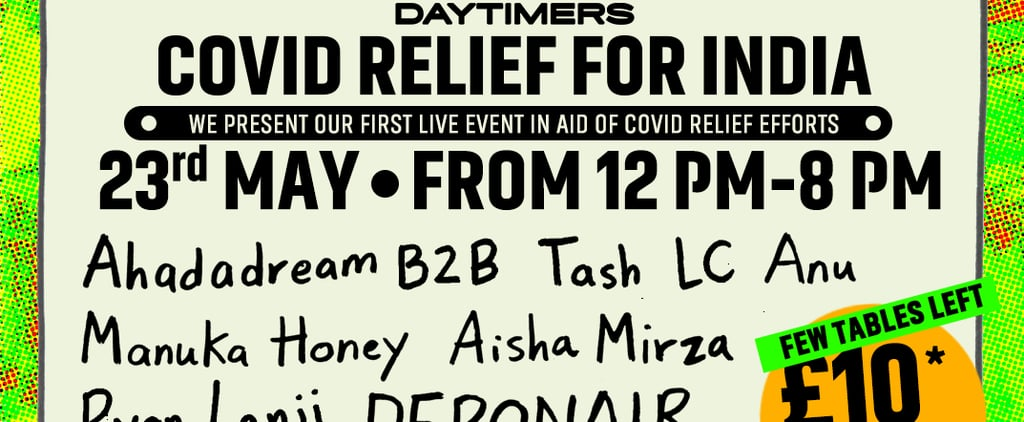 South Asian DJs Daytimers Host Event For COVID-19 in India