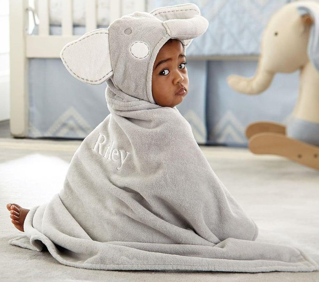 Nursery Fur Critter Bath Wrap