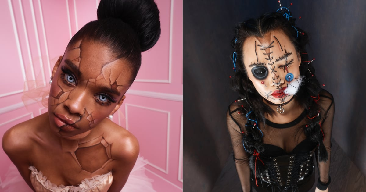 4 Ghoulish Halloween Makeup Looks You Can Create Using Affordable Drugstore Products