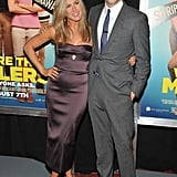 Jennifer Aniston paired up with her costar Jason Sudeikis for their We're the Millers NYC premiere.