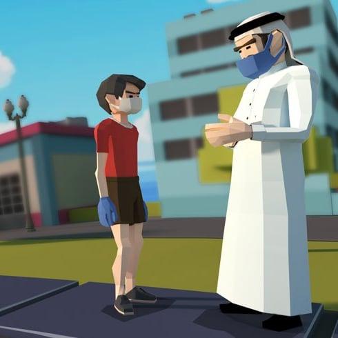 شرطة دبي تطلق لعبة إلكترونية للتوعية بمخاطر جائحة كورونا