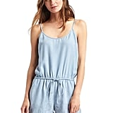 We love the thought of slipping into this chambray romper for a lazy day at the beach — or in the city.  Gap Tencel embroidered romper ($70)