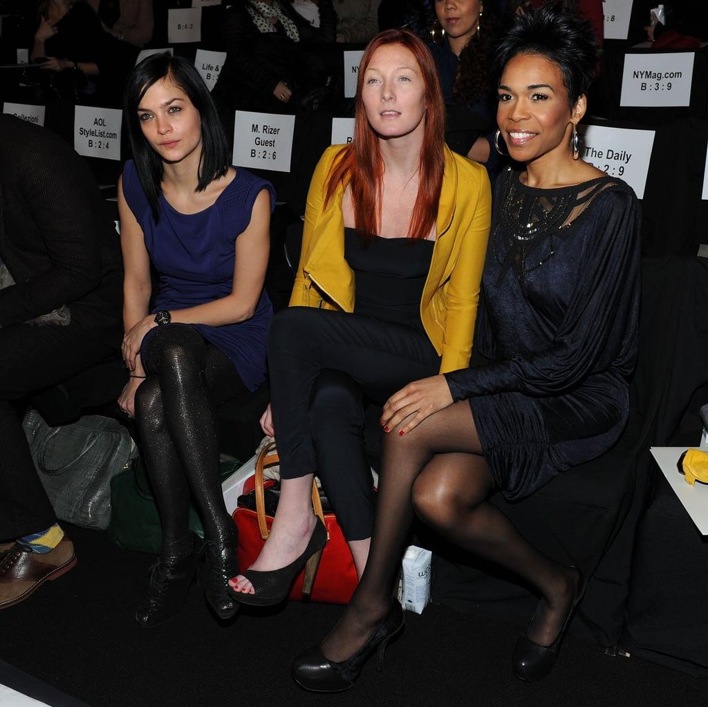 2010 Fall New York Fashion Week: Celeb Spotting!