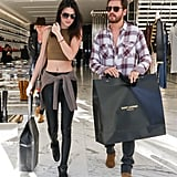 On Tuesday, Kendall Jenner and Scott Disick had a shopping date in LA.