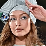 Gigi Hadid in a Hat on the Marc Jacobs Runway During New York Fashion Week