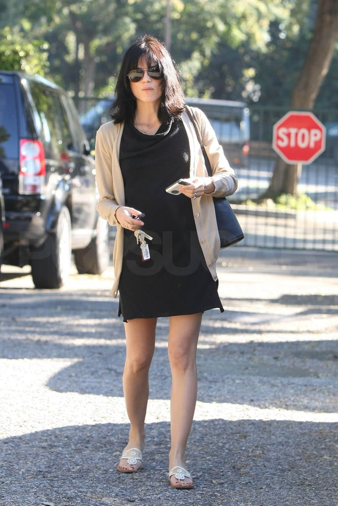 Selma Blair Dresses Her Baby Bump Up and Down During a Day Out in LA