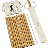 Dom and Vita Organic Reusable Bamboo Drinking Straws