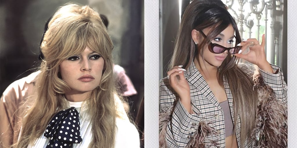 Ariana Grande's Brigitte Bardot Hair