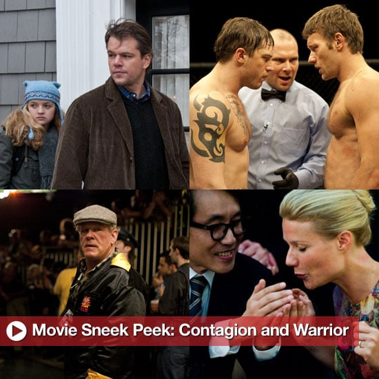 Movie Sneak Peek: Contagion and Warrior