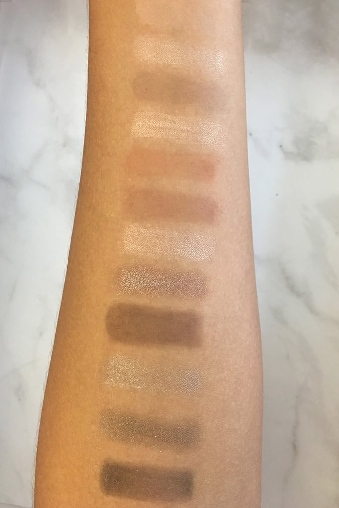 Charlotte Tilbury Instant Eye Palette Swatches (Indoors)