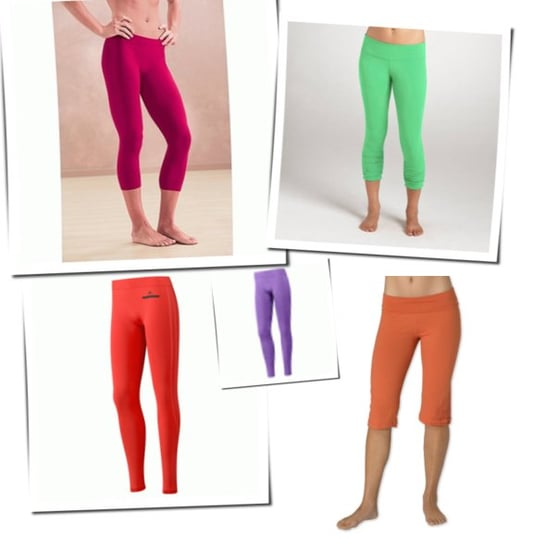 Colorful Workout Pants For Spring Training