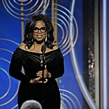In 2018, Oprah delivered one of the night's best speeches while accepting the Cecil B. DeMille Award.
