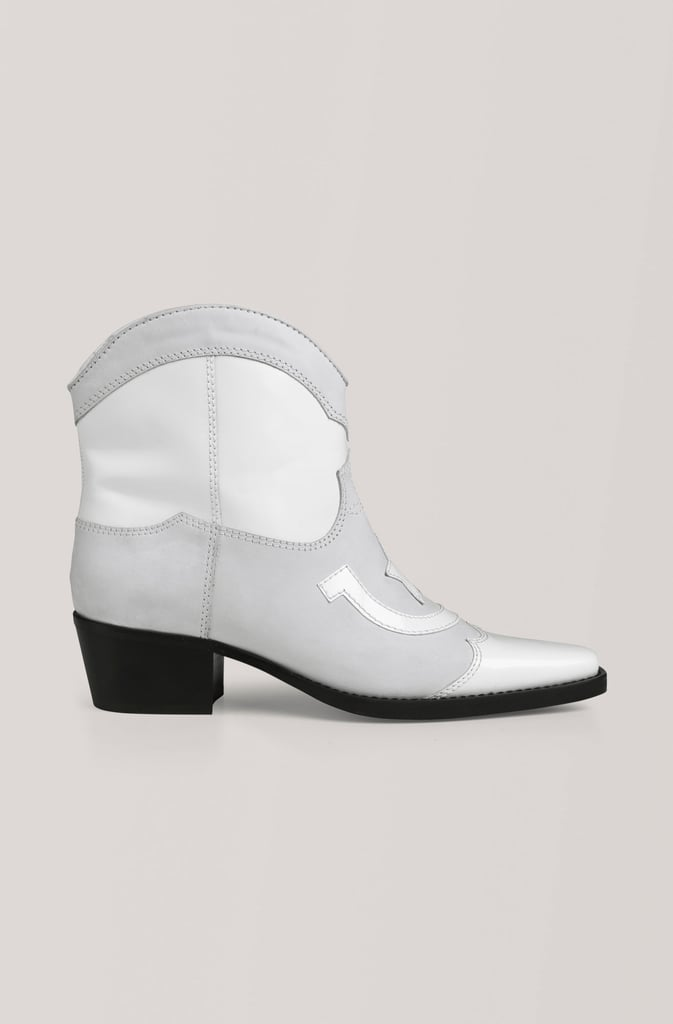 Ganni Low Texas Ankle Boots