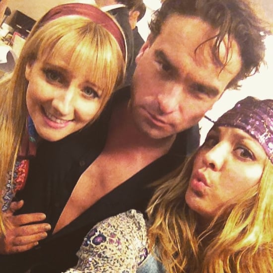 The Big Bang Theory Cast Instagram Pictures