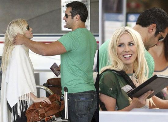 Photos Of Natasha Bedingfield At LAX With Her New Husband Matt Robinson