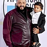 Pictured: DJ Khaled and Asahd Tuck Khaled