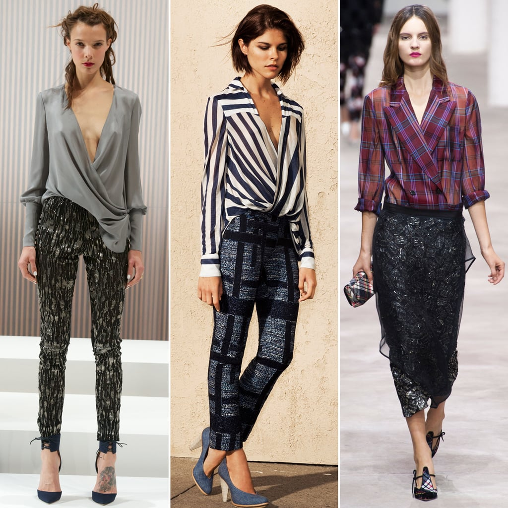 Best Wrap Blouses Spring 2013